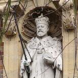 King Edward VII statue - NW3