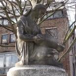 Frances Whiting memorial fountain