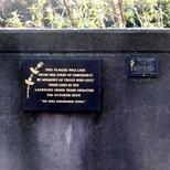 Ladbroke Grove rail disaster - plaques