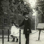 Tower of London execution site - c.1910