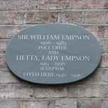 Sir William Empson & Lady Hetta Empson