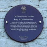 Ray and Dave Davies