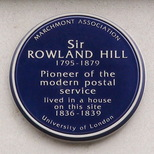 Rowland Hill - WC1 (Marchmont Association)