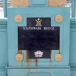Southwark Bridge opened