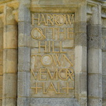 Harrow on the Hill war memorial