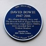 David Bowie - Former Trident Studios