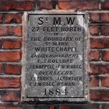 St Mary Whitechapel parish boundary
