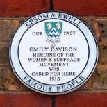 Emily Wilding Davison - Epsom