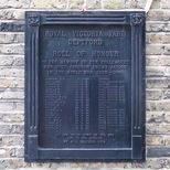 Royal Victoria Yard war memorial