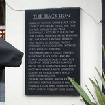 Black Lion pub ghost