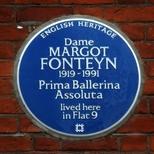 Dame Margot Fonteyn - WC2