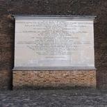 West India Docks - foundation stone