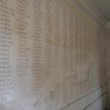 Islington War memorial arch - names