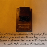 Parliamentary division bell