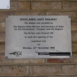 DLR extension to Lewisham - Lewisham