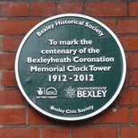 Bexleyheath Clock Tower Centenary