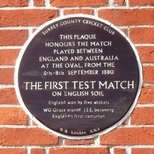First Test Match in England