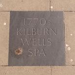 Kilburn Wells Spa - pavement plaque