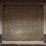 Westminster Hall - Charles I