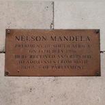 Westminster Hall - Mandela