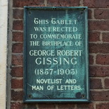 George Gissing - Wakefield birthplace