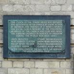 St Marys Sports and Social Club - WW2 memorial