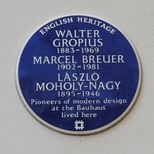 Gropius, Breuer and Moholy-Nagy