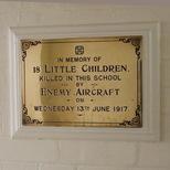 Upper North Street School - plaque 1