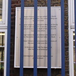 Upper North Street School - plaque 3