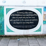Harrow Weald rail crash - mural panel