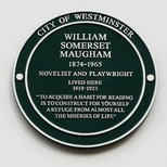 W. S. Maugham - Wyndham Place