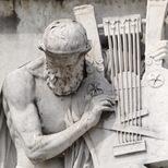 Frieze of Parnassus - Homer
