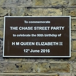 The Chase - street party - birthday