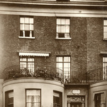 General Gordon's birth place - lost plaque, oblong