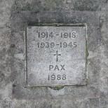 Holy Trinity war memorial - WW1 + WW2