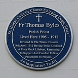 Father Thomas Byles - home