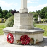 Brockley and Ladywell Cemetery WW1 - cross