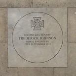 Second Lieutenant Frederick Johnson, VC