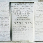 Brockley and Ladywell Cemeteries - Deptford war servicemen