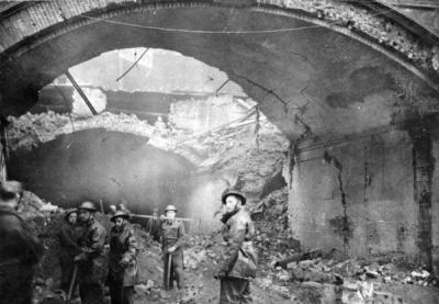Stainer Street Arch Bombing London Remembers Aiming To